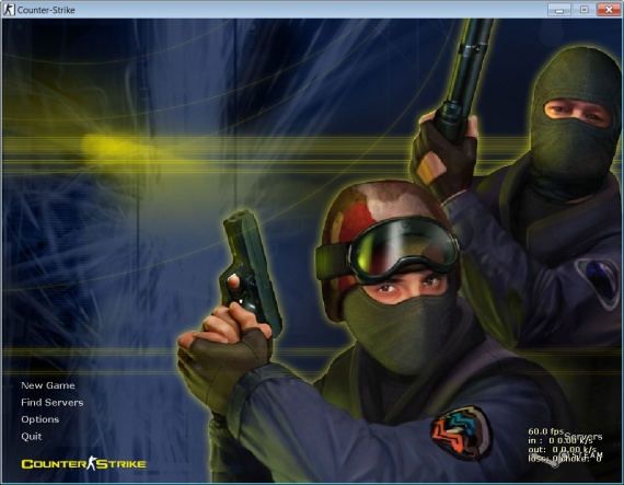 Чистый клиент Counter-Strike 1.6, скачать counter-strike 1.6