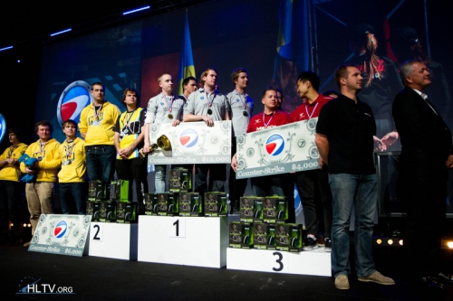 TOP 3 ESWC 2011: Mousesports (3), Natus Vincere (2), SK Gaming (1)